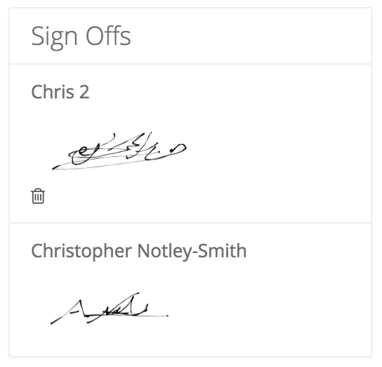multiple-signatures