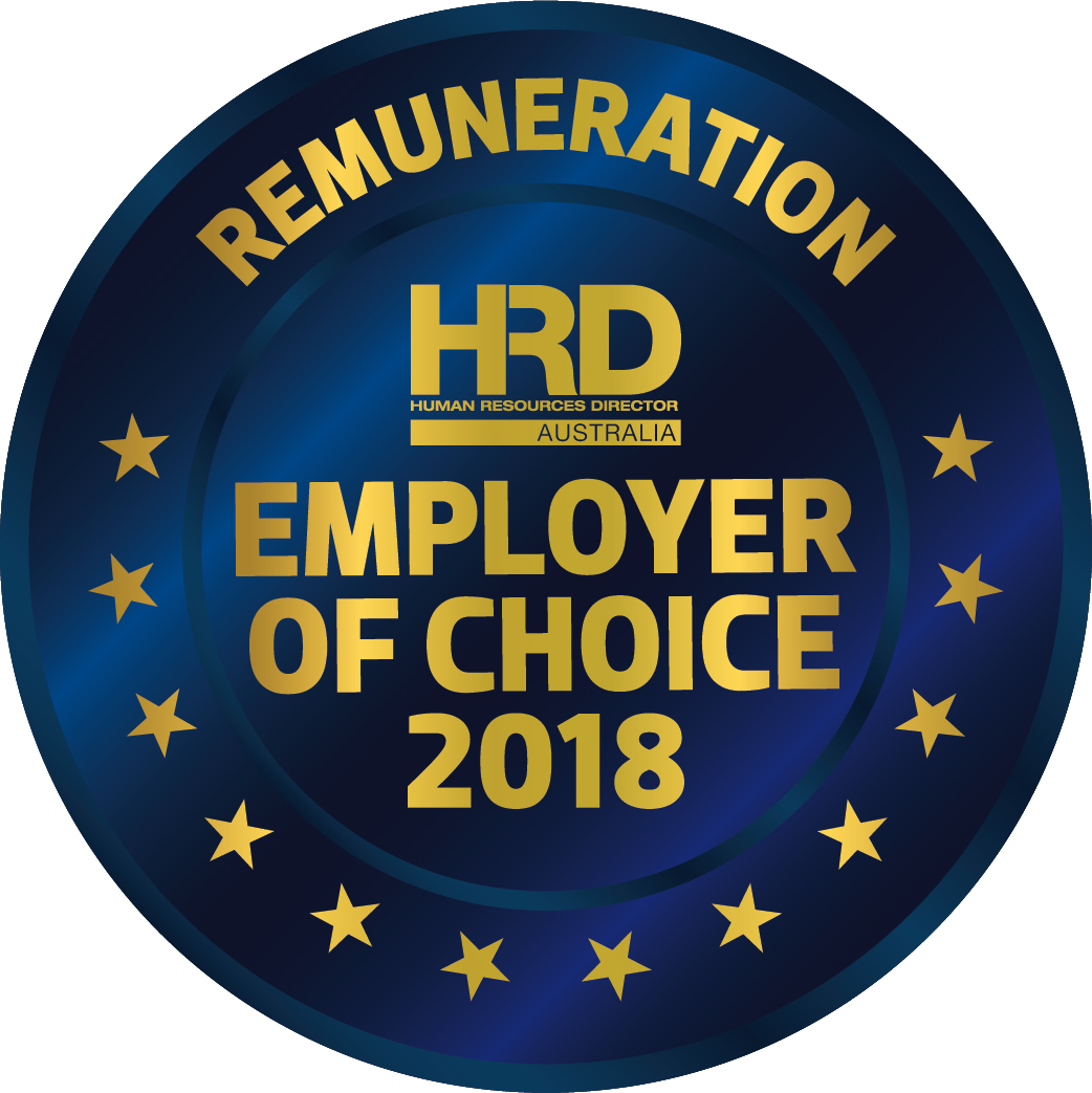HRD Human Resources Director Employer of Choice 2018 for Remuneration