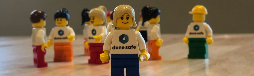 Donesafe lego community and events