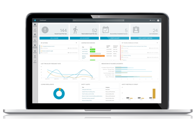 compliance software reporting dashboard