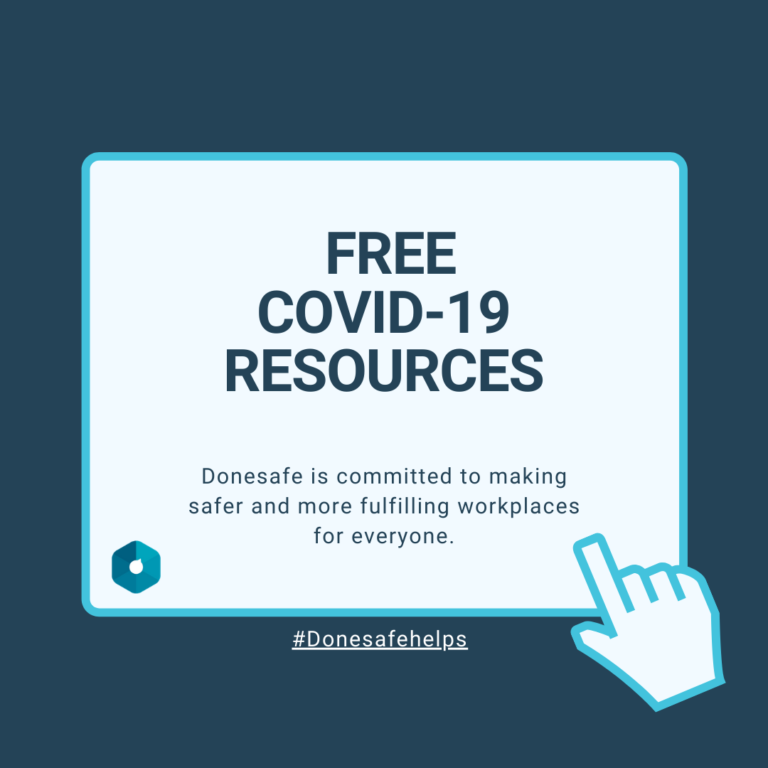 Free COVID-19 Resources Donesafe